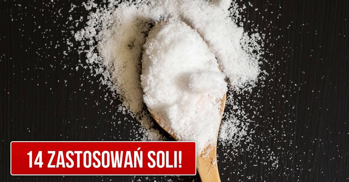 Przydatne zastosowania soli w domu