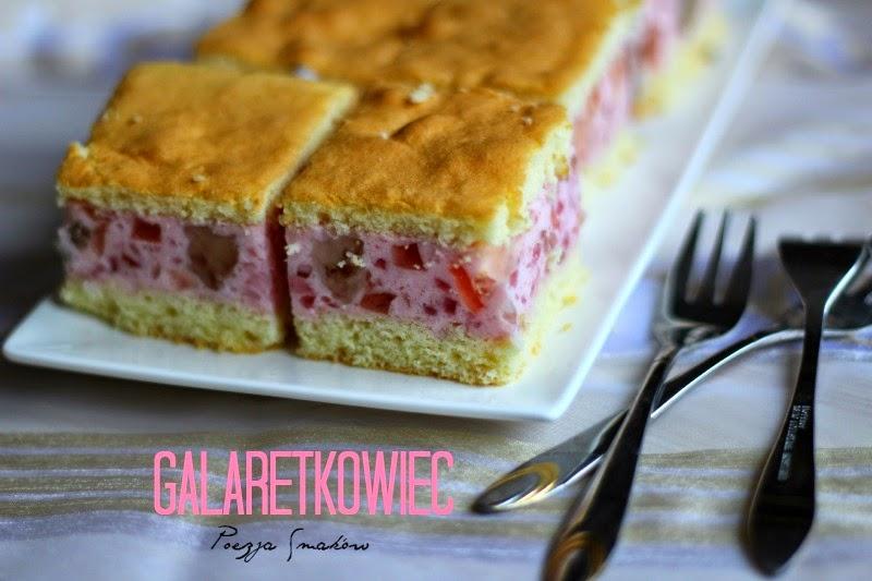 Galaretkowiec – przepis na bardzo tanie ciasto.