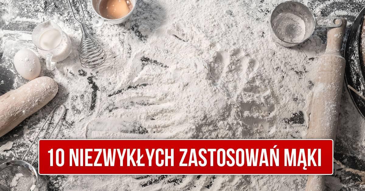 10 niezwykłych zastosowywań mąki