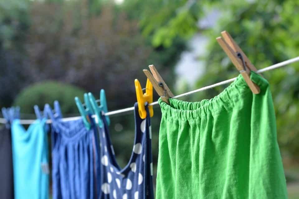 Sposób na szybkie wysuszenie prania