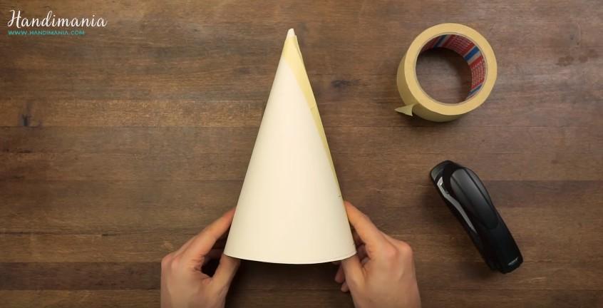 Jak zrobić stożek z papieru