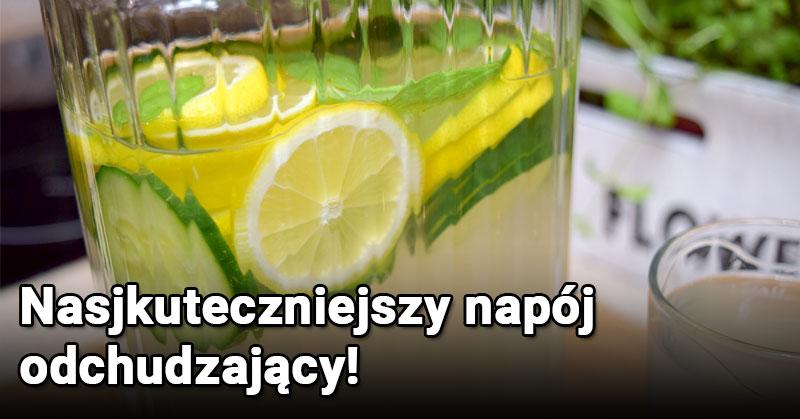 Najskuteczniejszy napój odchudzający, który będziesz pić codziennie