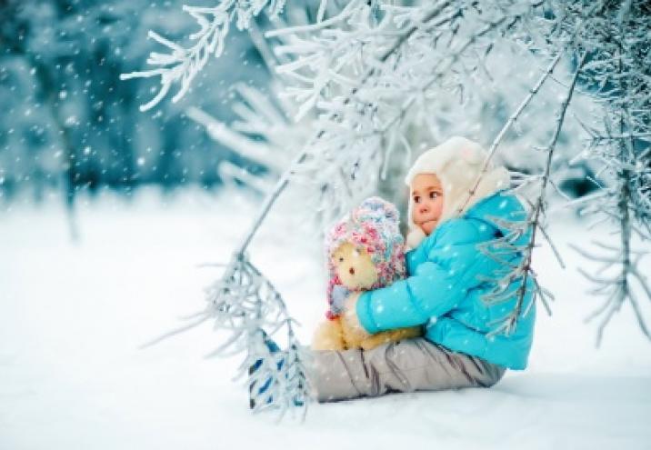 10 przykazań bezpiecznej zimy malucha