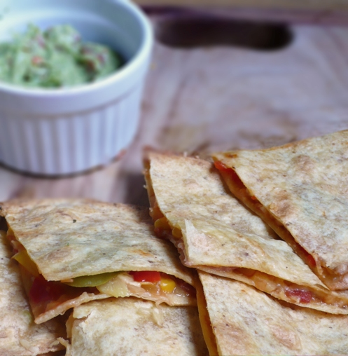 Quesadillas z guacamole na imprezę