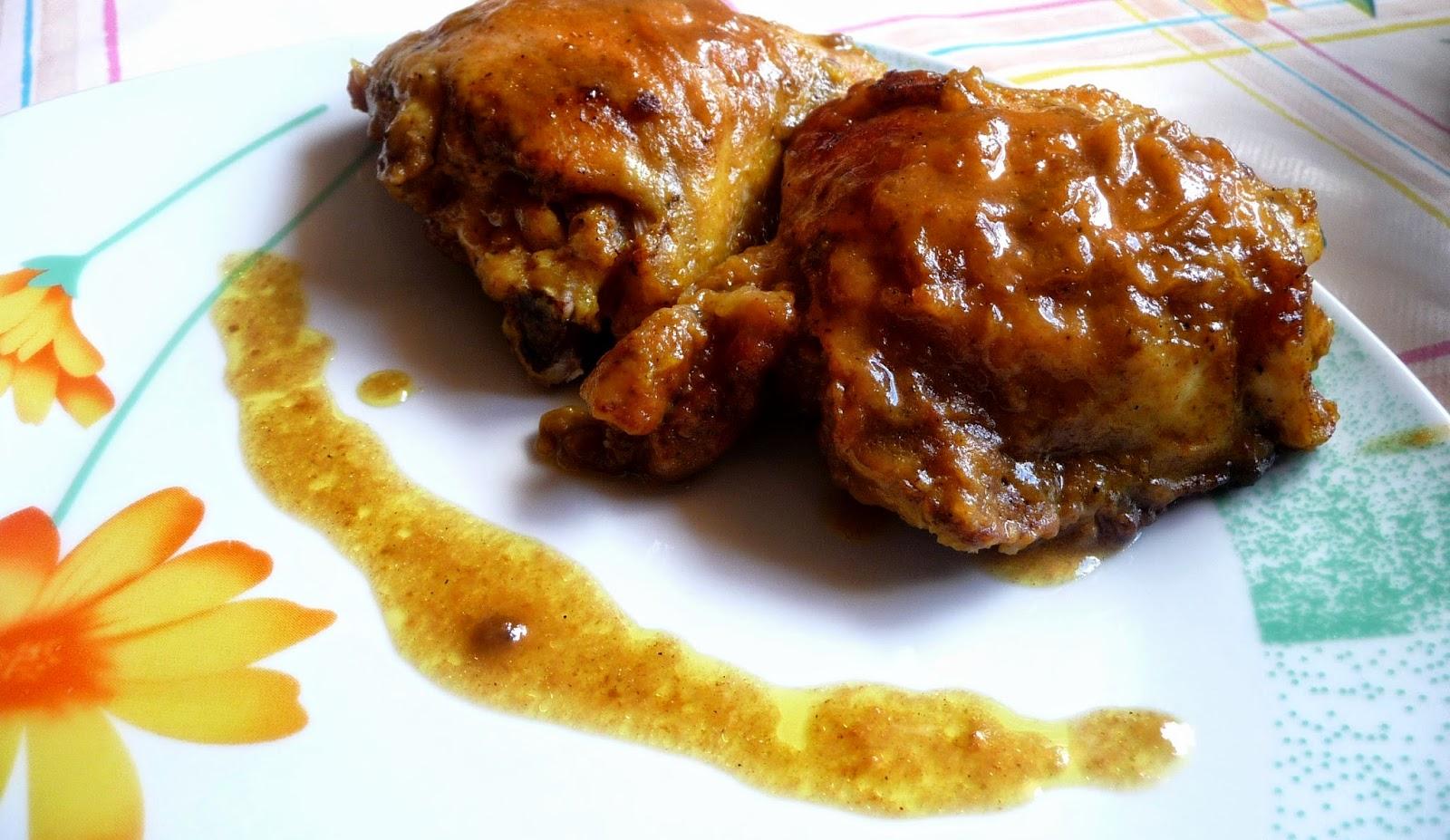 Kurczak w śliwkowym sosie
