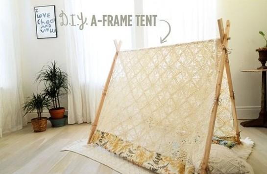 Namiot do mieszkania – genialna dekoracja i zabawa dla dziecka