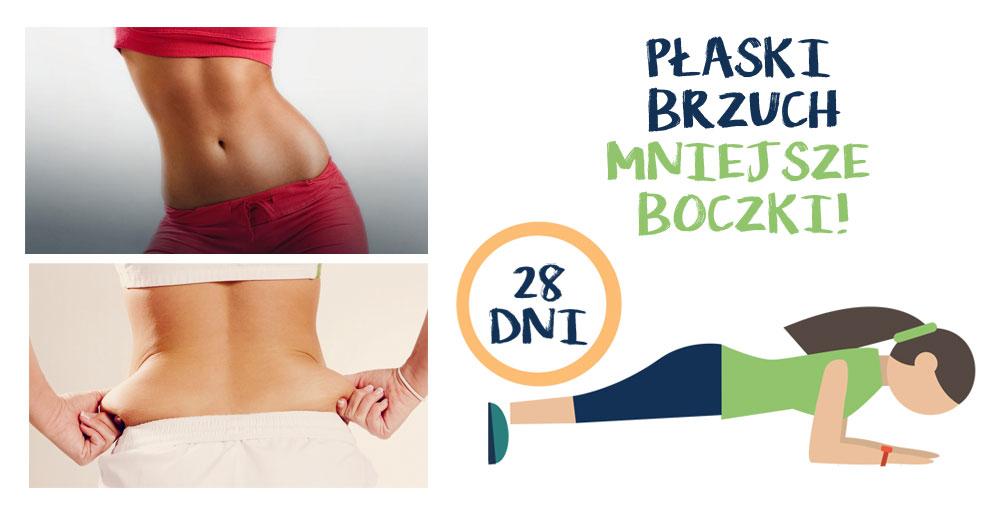 Podejmij wyzwanie – 28 dni do płaskiego brzucha i mniejszych boczków