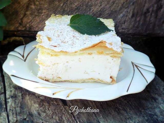Ciasto francuskie z kremem truskawkowym wg siostry Anastazji