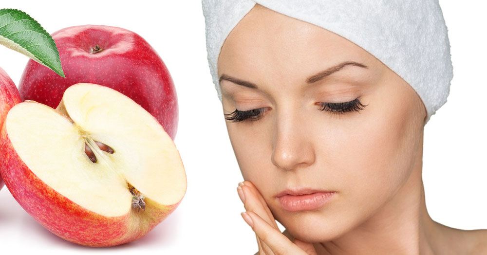 Zobacz jak zrobić maseczkę oczyszczającą z jabłek