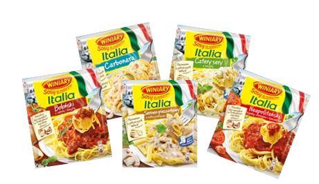 Makaronowe szaleństwo z sosami Italia WINIARY!