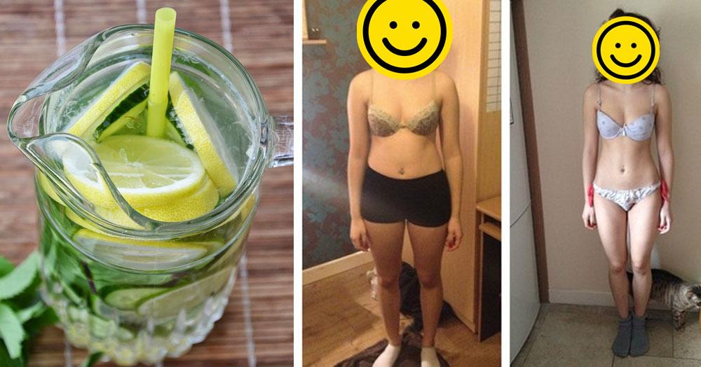 Domowy napój wspomagający odchudzanie