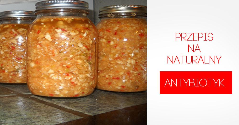 Naturalny antybiotyk, który zrobisz sama!