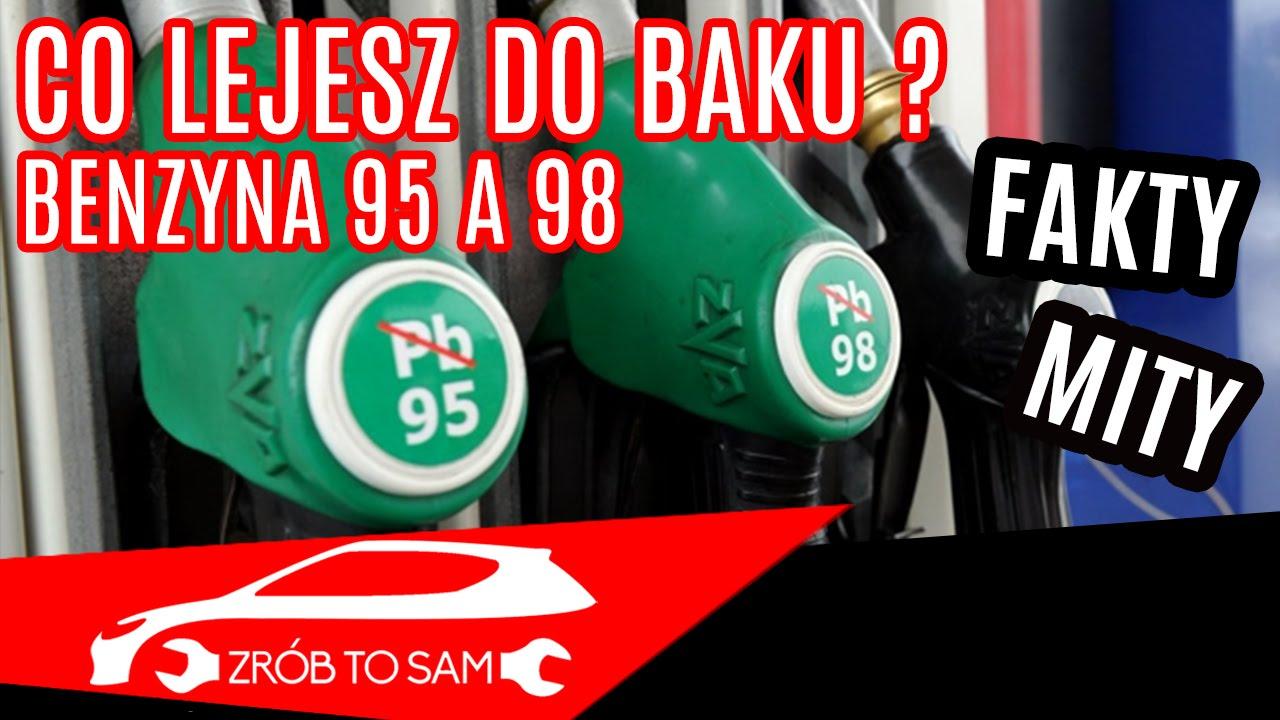 Czy jest jakaś różnica między benzyną 95 a 98 i czy warto kupować droższą?