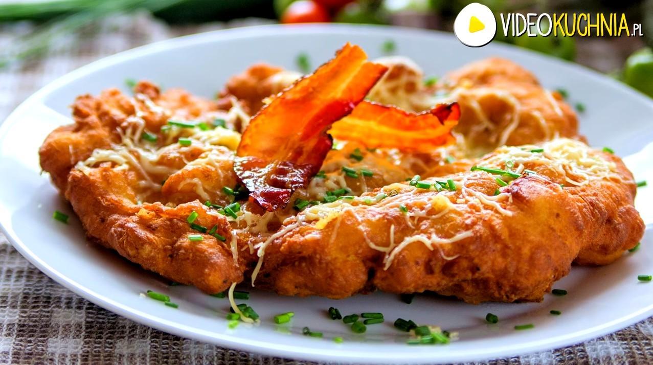 Placki langosze czyli węgierski street food