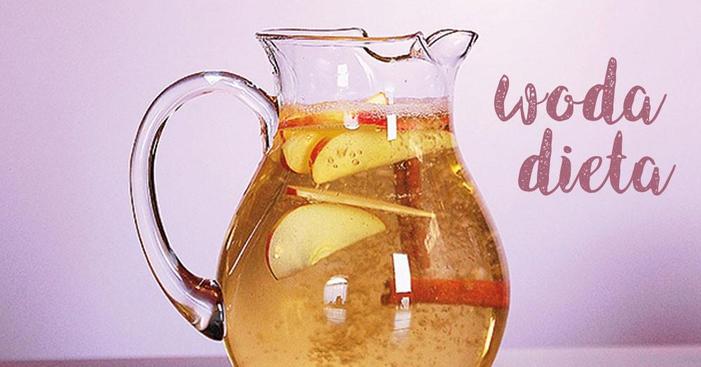 Nowy przepis na wodę odchudzającą – jabłko, cynamon i cytryna!