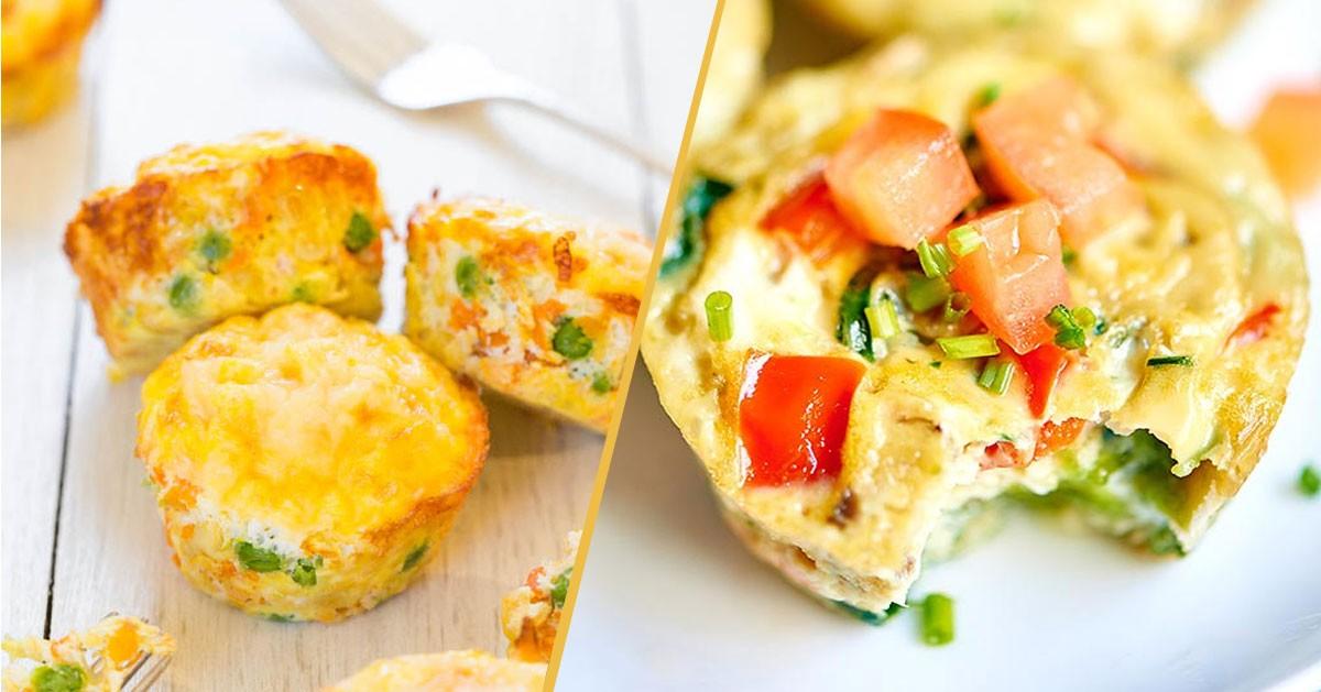 Mini omleciki na śniadanie – genialne, proste, smaczne!