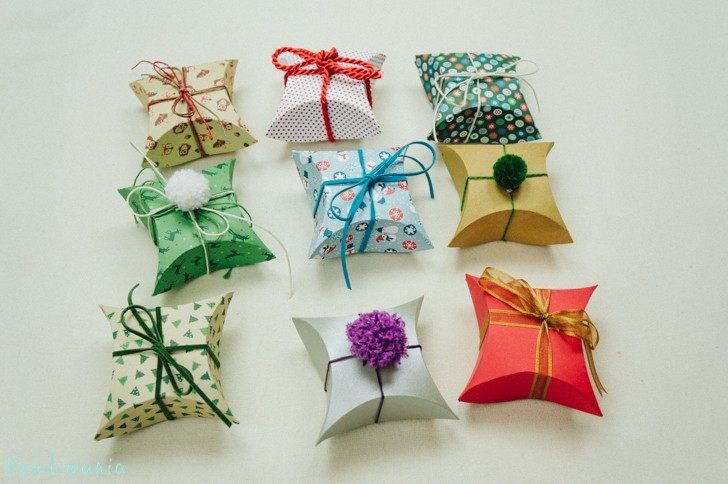 Jak zrobić małe opakowania na prezenty
