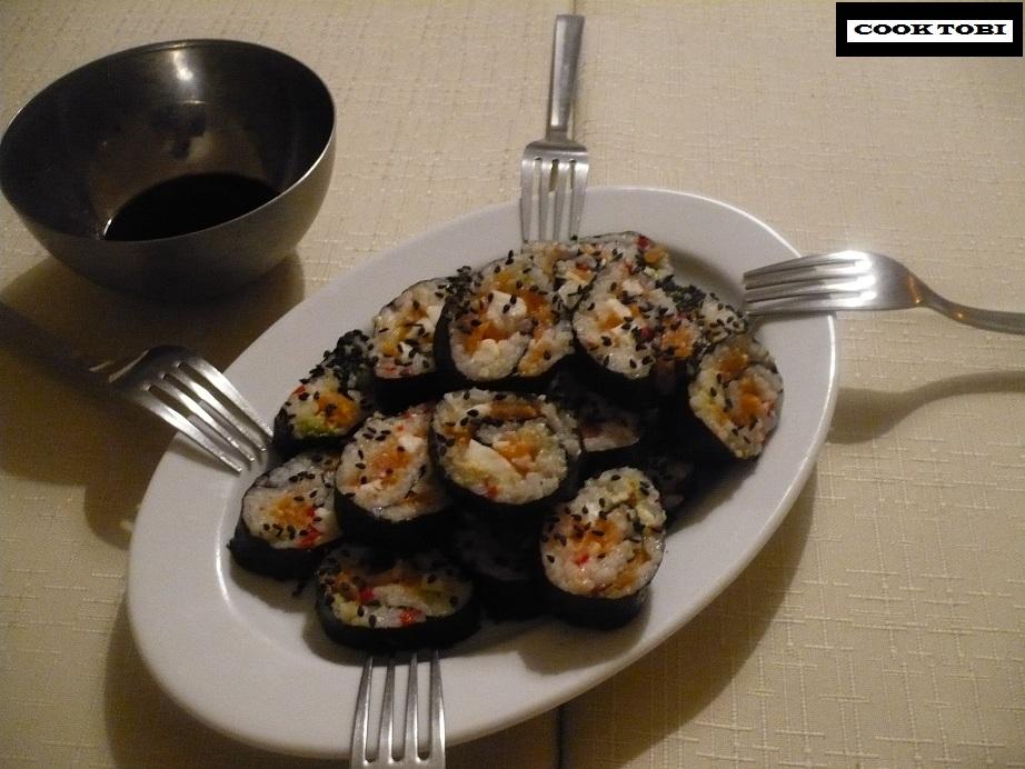 Szybkie sushi na imprezę