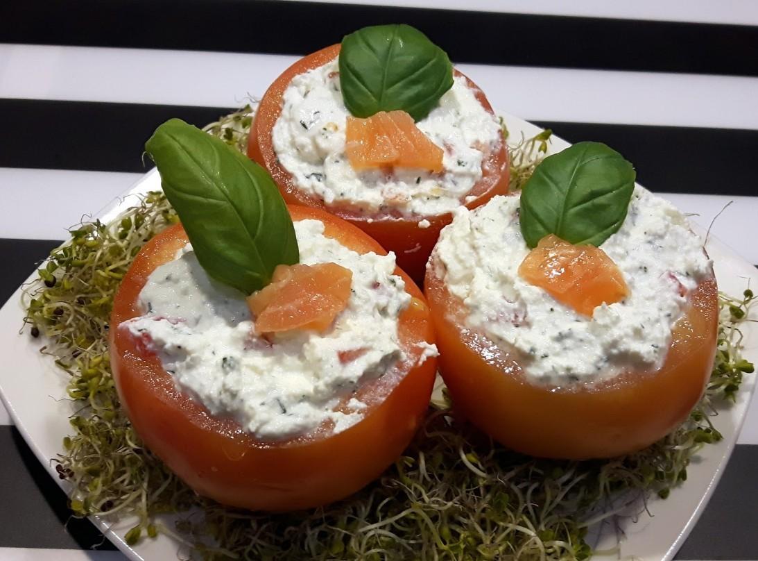 DomPelenPomyslow.pl Nadziewane pomidorki
