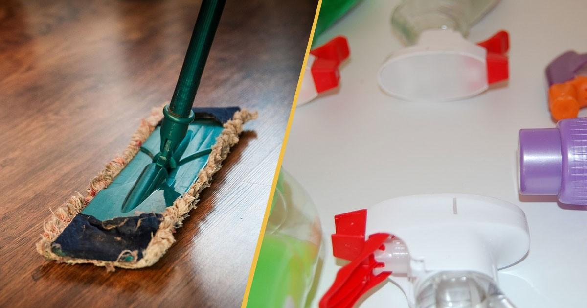 10 niezawodnych sposobów na szybkie posprzątanie domu