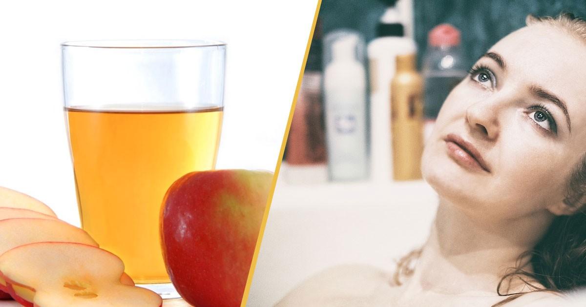 Dlaczego warto dodać ocet jabłkowy do kąpieli?
