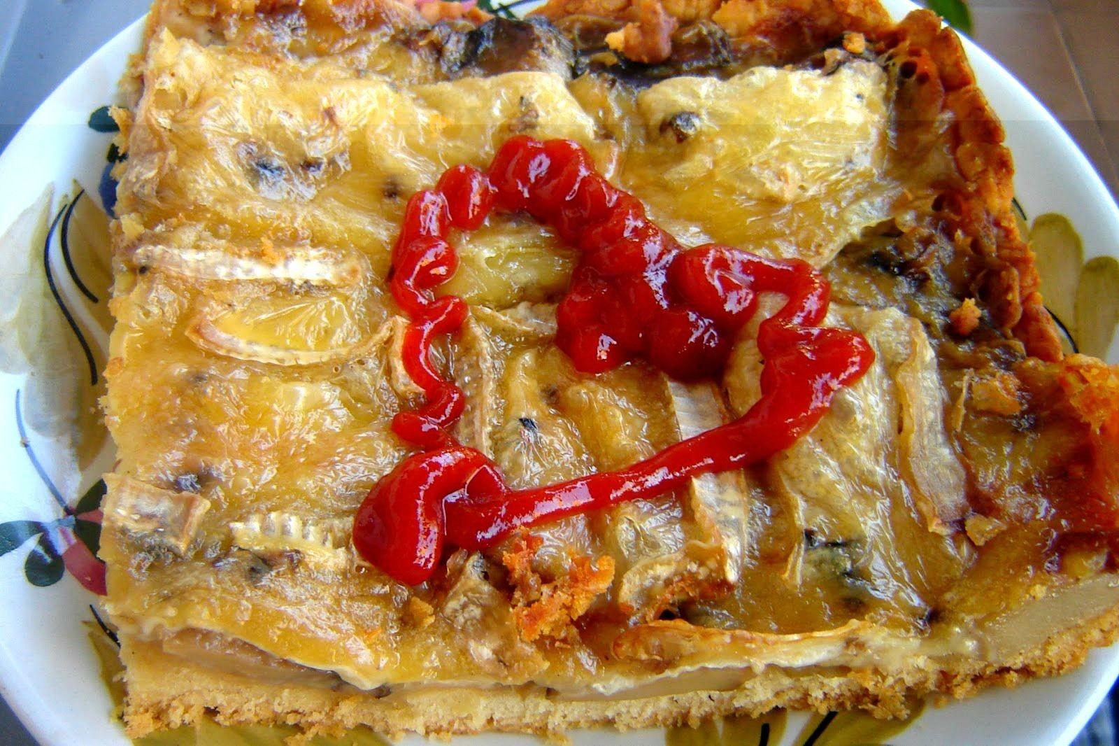 Tarta z grzybów leśnych