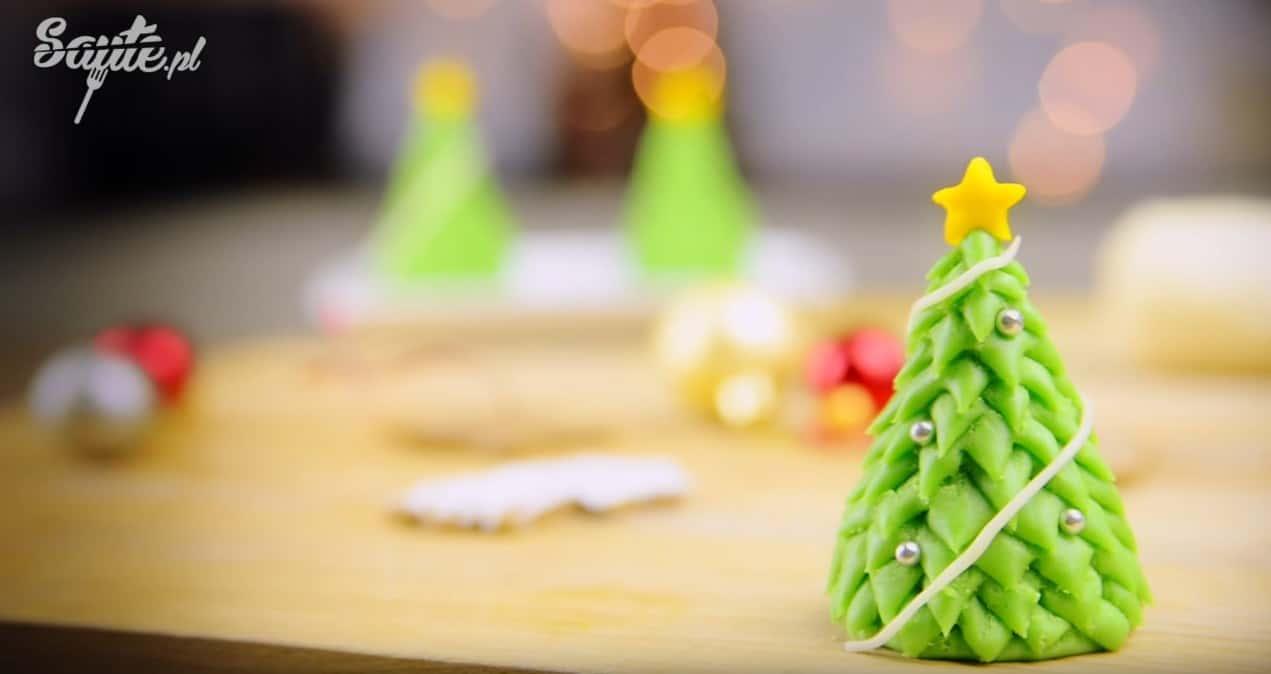 Jak zrobić choinkę z marcepanu – ozdoby na Boże Narodzenie
