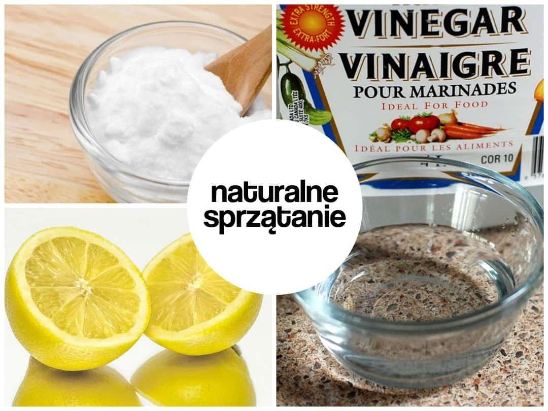 Wyczyść cały dom na święta używając jedynie cytryny, sody oczyszczonej i octu