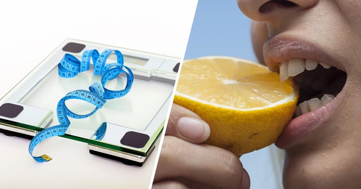 Zacznij walczyć z nadwagą używając cytryny