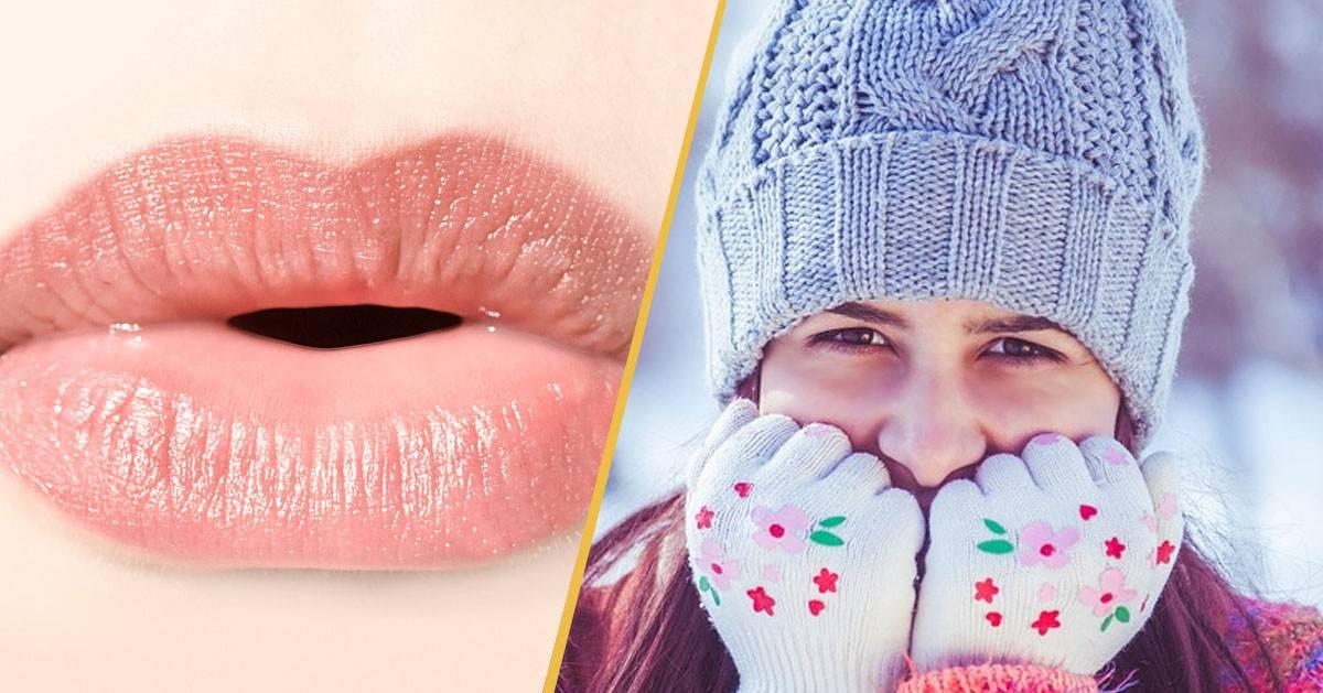 Jak dbać o usta podczas mrozu?
