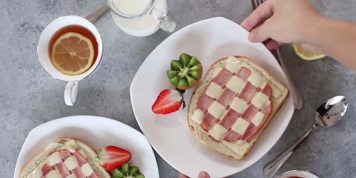 Pomysłowe tosty w kratkę, których musisz spróbować!