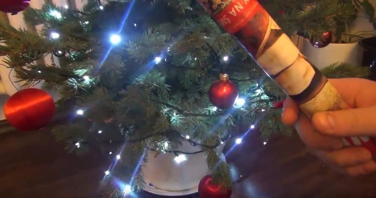 Jak zwijać lampki choinkowe aby za rok się nie wkurzać!