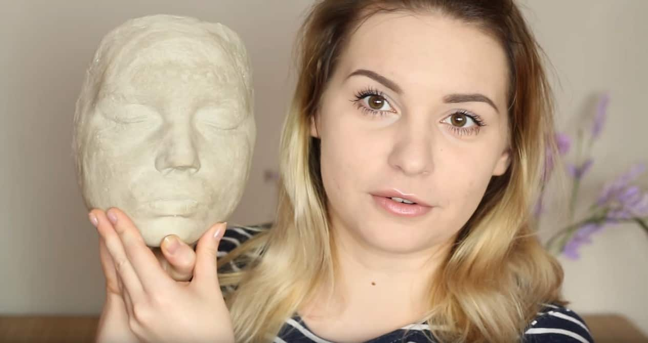 Jak zrobić odlew twarzy?