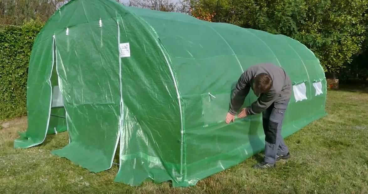 Jak zbudować tunel foliowy ogrodowy?