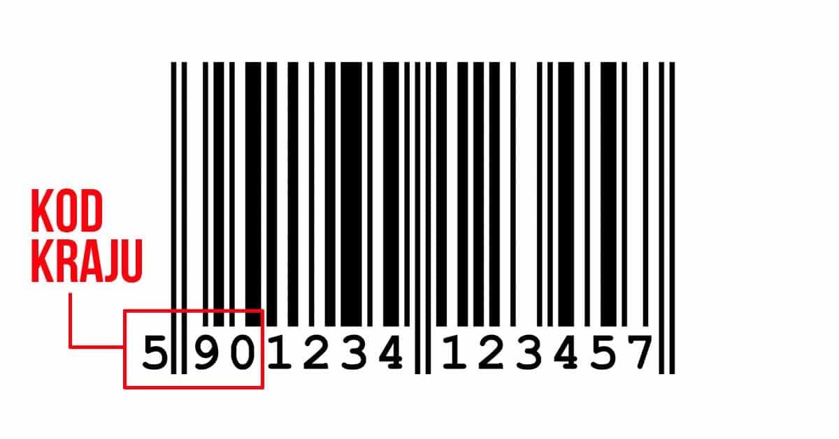Jak po kodzie kreskowym sprawdzić czy produkt pochodzi z Chin