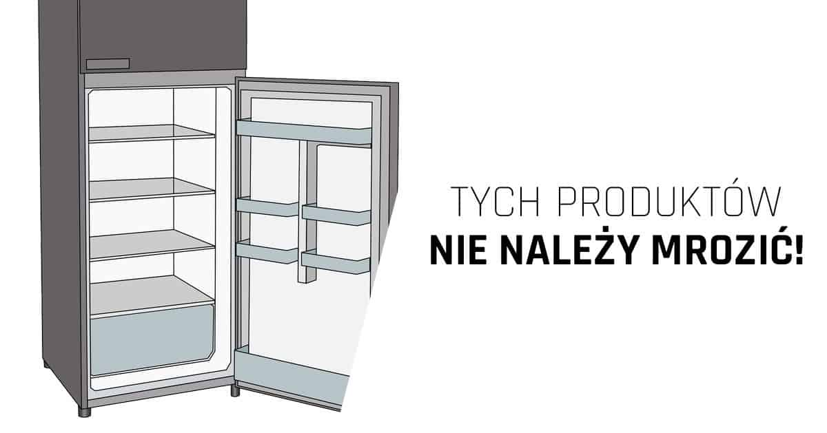 10 produktów, których nie powinno się przechowywać w zamrażarce