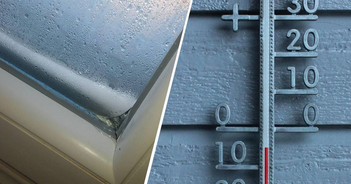 Gdy budzisz się rano na szybie jest wilgoć i lód?