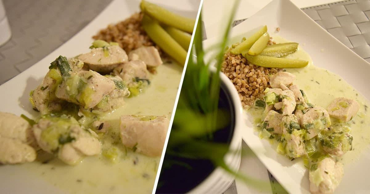 Dietetyczny Kurczak Z Porami Na Obiad Dompelenpomyslow Pl