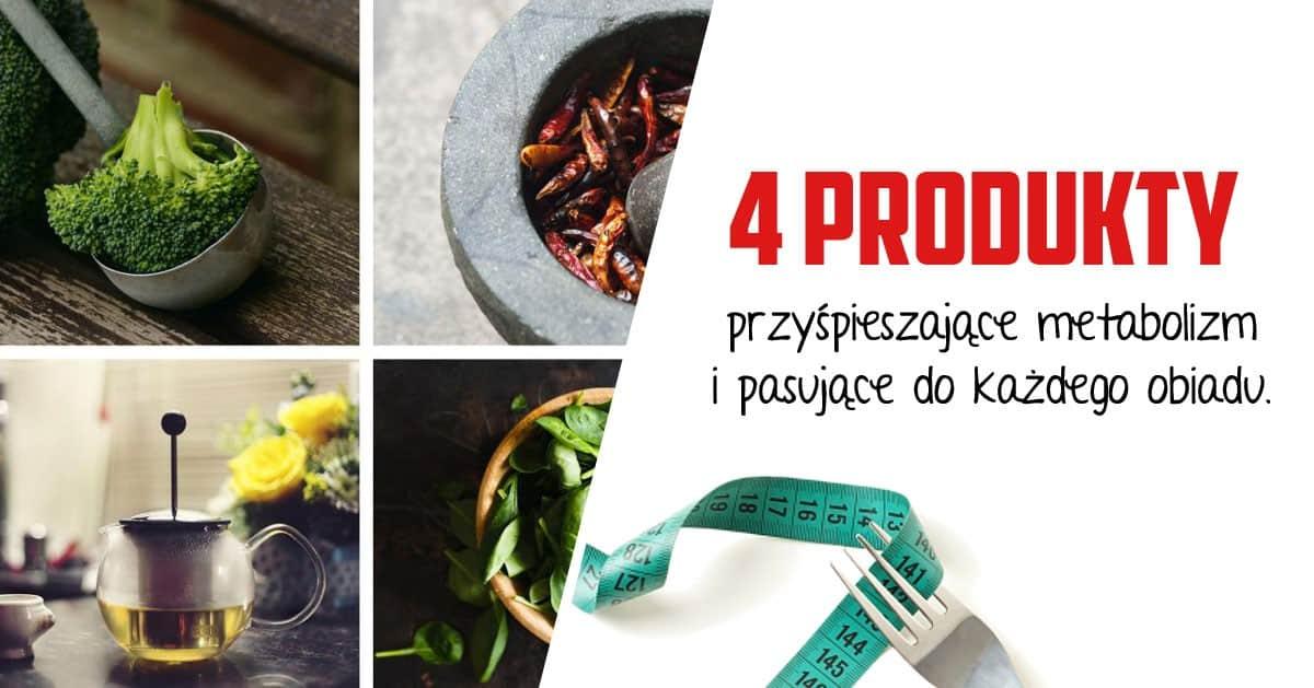 4 produkty, które przyśpieszą Twój metabolizm i można dodać je do każdego obiadu