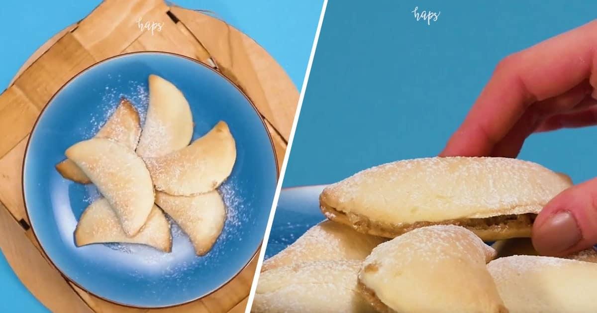 Libańskie pieczone pierogi na słodko, takich w życiu nie jedliście!