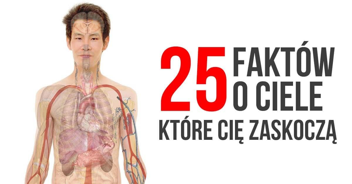 25 ciekawostek na temat Twojego ciała, o których nie wiedziałaś!