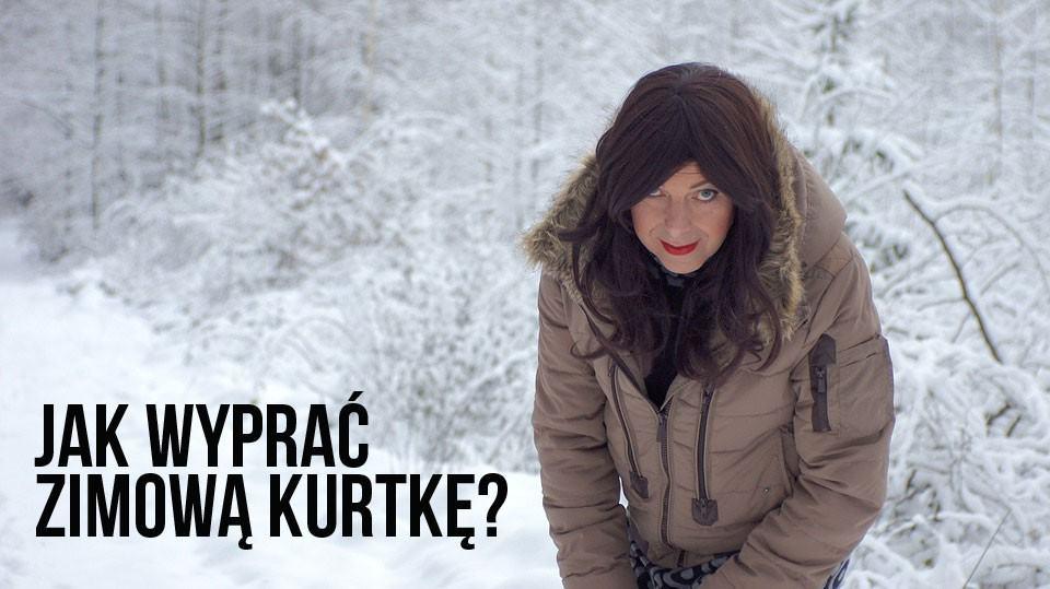 Jak wyprać zimową kurtkę aby puch się nie zbił?