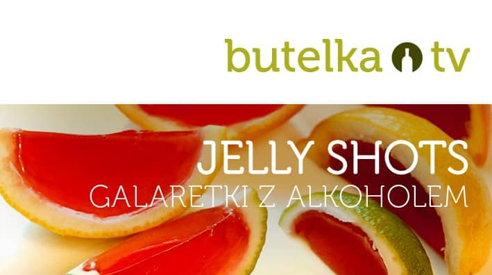 Jelly shots, galaretki z alkoholem