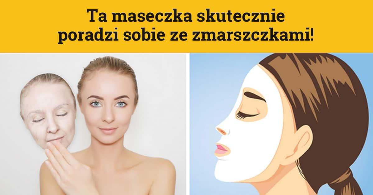 DomPelenPomyslow.pl Domowa maseczka na zmarszczki
