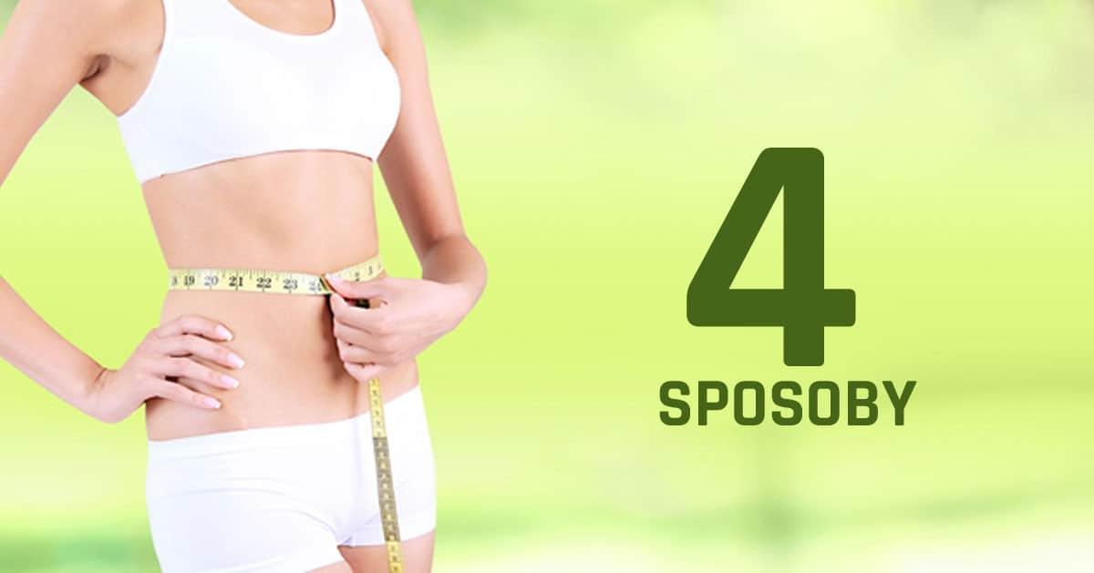 4 sposoby aby spalić tłuszcz z brzucha