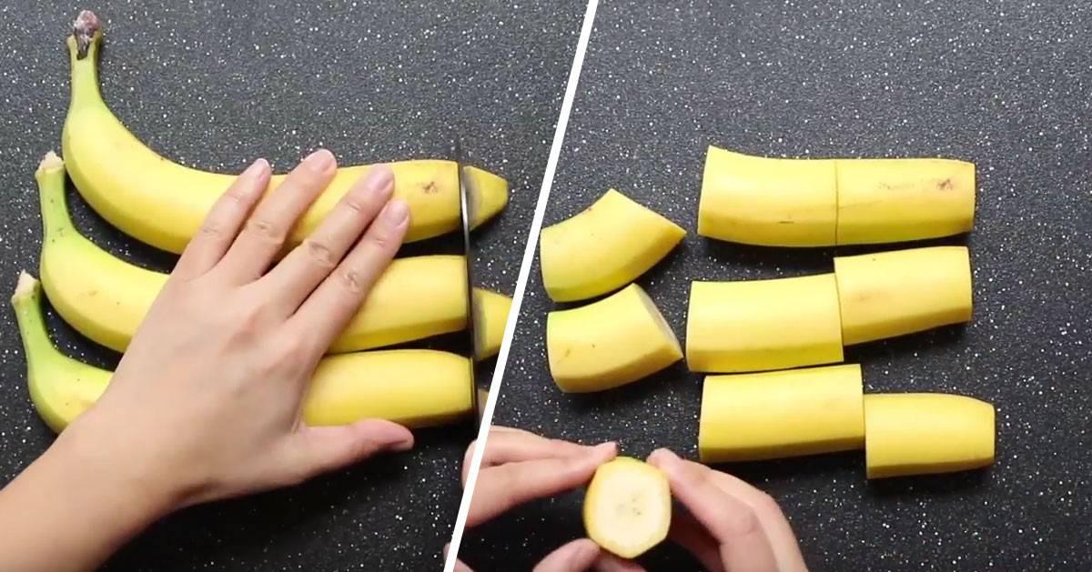 Wzięła banany i zrobiła z nich genialny deser, którego będziesz chciała spróbować!