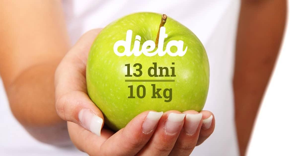 Dieta na 13 dni, dzięki której możesz zrzucić nawet 10kg!