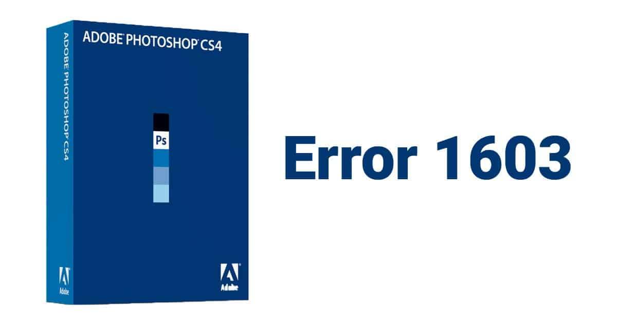Error 1603 Adobe Photoshop CS4 sRGB – rozwiązanie problemu