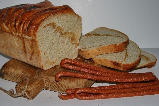 Chleb pszenny musztardowy