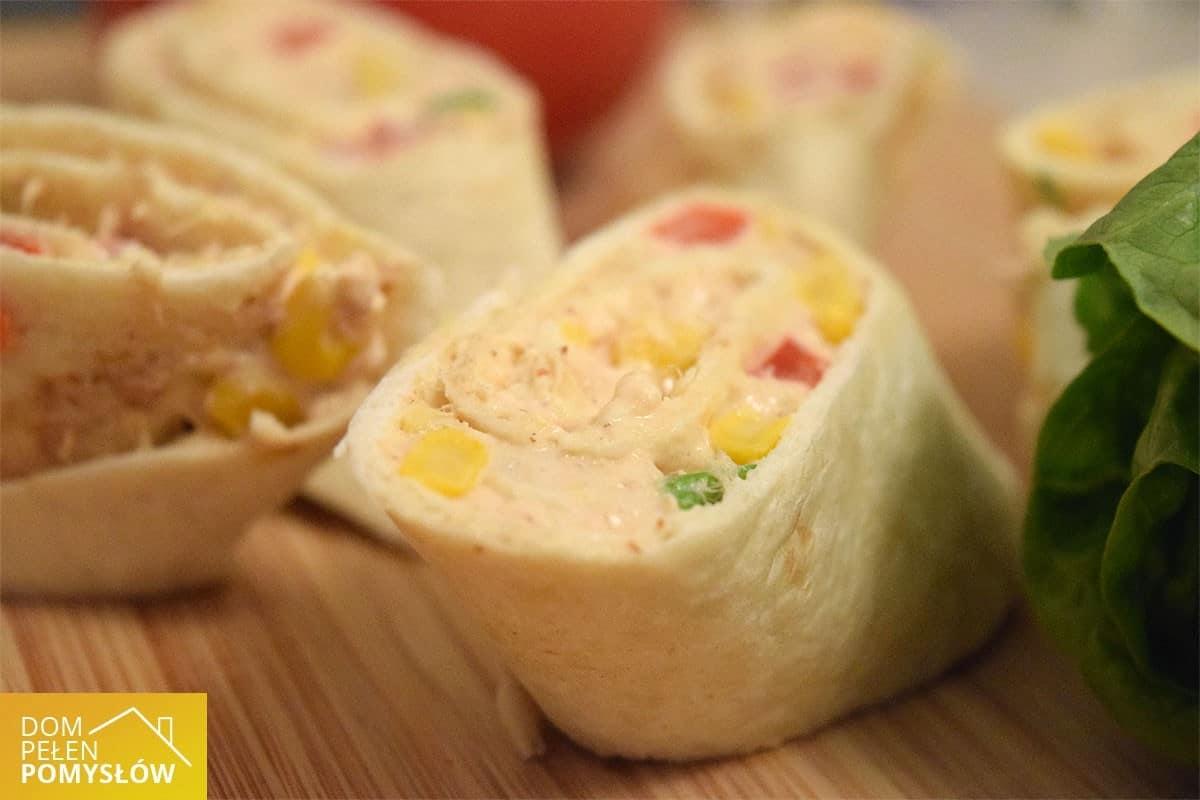 Imprezowe roladki z tortilli – musisz je przygotować na imprezę!